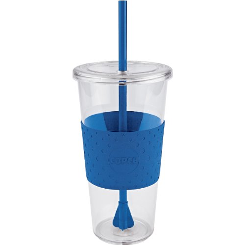 Copco Sierra 24-Ounce Cold Tumbler, Royal Blue (Cold Coffee Cup compare prices)