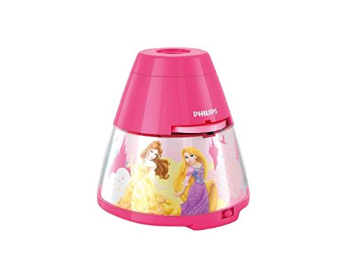 Philips e Disney, Luce notturna Bambini Proiettore LED, Principesse Disney