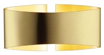 Holtkoetter 8501 BB Voila Wall Sconce, Brushed Brass