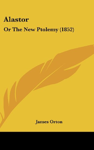 Alastor: Or the New Ptolemy (1852)