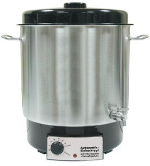 Braukessel Brewferm 27 ltr NIRO elektrisch