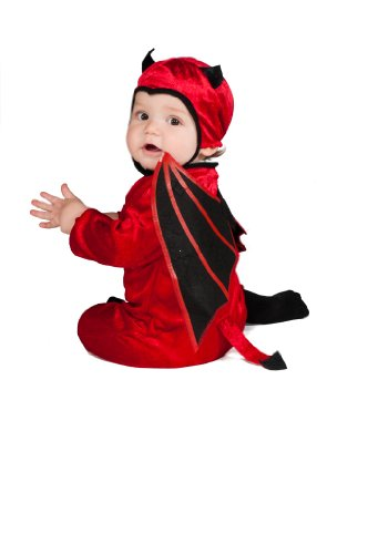 Rubie's Costume Black Wing Devil Ez-On Romper Costume