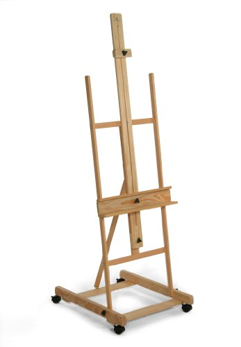 American Easel Umpqua H Frame Easel with Locking Casters