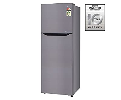 LG GL-B292SGSM Frost-free Double-door Refrigerator (258 Ltrs, 3 Star Rating, Graphite Steel)