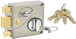 Godrej Locks Ultra Tribolt 1CK (Satin Nickel) (Free Installation)