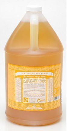 Dr.Bronner's マジック ソープ ガロンサイズ シトラス オレンジ 3776ml