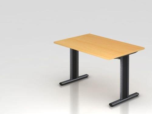 Bureau t dimensions :  72 x 120 x 80 cm, plateau en hêtre
