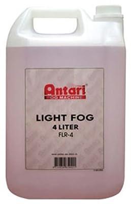 Antari FLR4 Low Lying Fog Fluid Juice (Gallon) Fog Machine Fluid by Antari