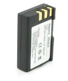 Moondocom - Batterie de remplacement Haute Capacité pour NIKON EN-EL9 EN-EL9a EN-EL9e ENEL9a ENEL9e pour D3000 / D40 / D40x / D5000 / D60 - 1800 Mah