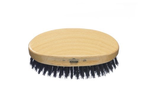 kent brushes Kent Oval Beachwood with Pure Black Bristle, MG2