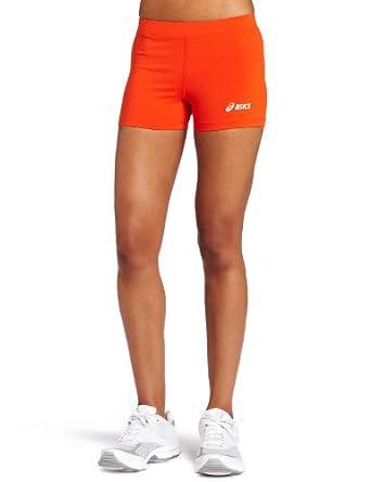 ASICS Women's Low Cut Short, Orange, XX-Small