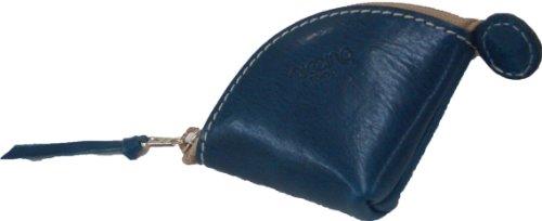 piccino ピッチーノ 貝殻型小銭入れ 革 イタリアンナッパ A21NL ブルー