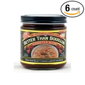 Better Than Lobster Base Bouillon, 8 Ounce -- 6 per case. by Better Than Bouillon
