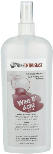 Wine Enthusiast Wine B'Gone Stain Remover Spray, 16-Ounce