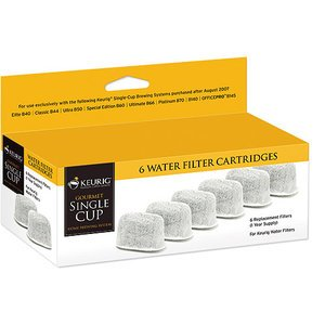 Keurig Replacement Water Filter Cartridges in Keurig Retail Box, Set of 6 Filters