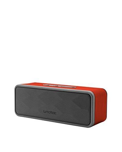 Unotec Speaker Bluetooth Bass rood