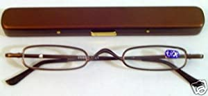Optical Reading Glasses with Case Ultra Thin Compact