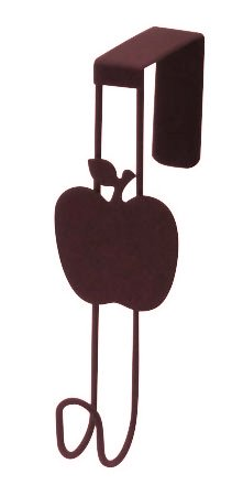 Abeille ドアフック リンゴ ブラウン