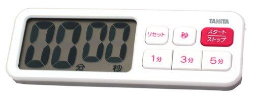 Plus blanc TD-395-WHTD-395-WH est visible ou dans TANITA minuterie num?rique (japon importation)