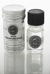 Organic Frankincense Essential Oil (Boswellia carteri) (10 litres (£306.00/litre)) by NHR Organic Oils