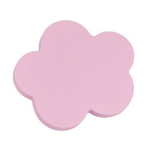 Jsne 6 pomos tiradores nube madera lacado rosa almate - Pomos armarios infantiles ...
