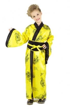 Pams Chinese Girl Fancy Dress Costume Age 4-6 Years