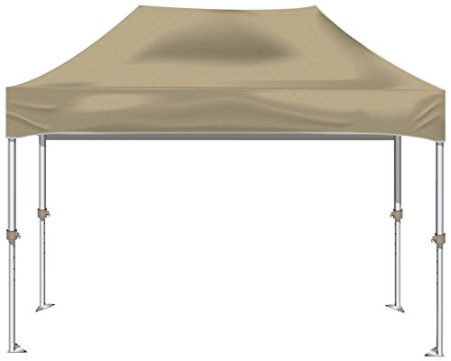 Kd Kanopy Xtf150C Xtf Aluminum Frame Indoor/Outdoor Portable Canopy, 10 By 15-Feet, Cream