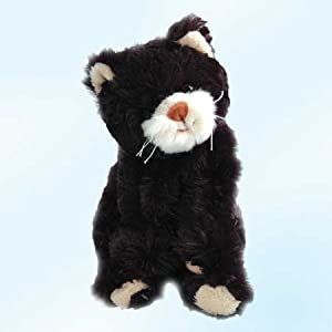 bukowski soft plush bambo black cat stuffed animal toy 10 toys games. Black Bedroom Furniture Sets. Home Design Ideas