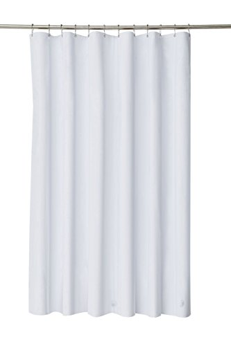 pinzz-elegant-waterproof-white-polyester-fabric-extra-long-shower-curtain-liner-size-180cm-wide-x-20