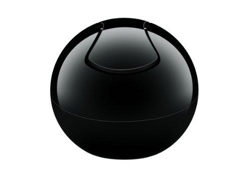 Spirella Bowl-Uni Abfalleimer, schwarz