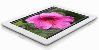 The new ipad 第3世代 wi-fiモデル 32GB ホワイト 国内版