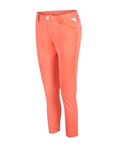 Bench - Pantaloni, Donna, Arancione (fiery coral), XX-Small (Taglia Produttore: W25)
