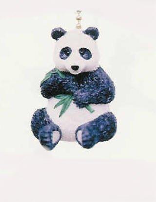 Black & White Panda Bear Lover Ceiling Fan Light Pull (Fan Pull Panda compare prices)
