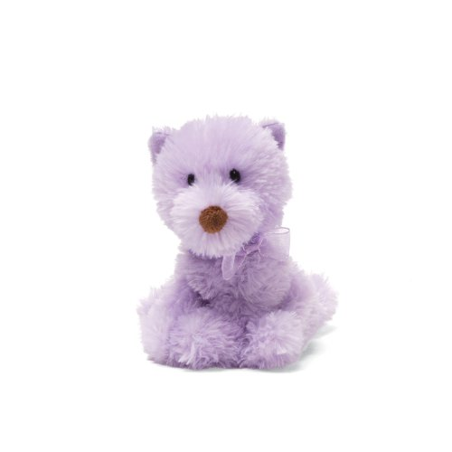 "Gund Chic Pets - Purple Dog 5"" Beanbag - 1"