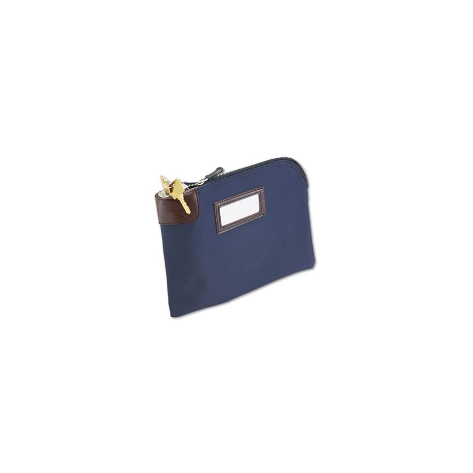 Seven Pin Security Night Deposit Bag 2 Keys 11 X 8 1 2 Inches Navy 233110808
