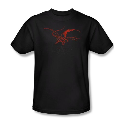 The Hobbit Lord Of The Rings Red Smaug Movie Adult T-Shirt Tee