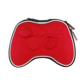 258Stickers® Airform Game Pouch Bag For Xbox 360 Controller(Red)