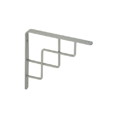 Homeline Fittings 2-1468.150.38 15cm Stairs Bracket - Matt Chrome