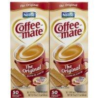 Coffee-Mate Liquid Creamer Singles-Original, 50 Ct, 2 Pk