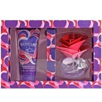 Justin Bieber Someday Gift Set for Women (Eau de Parfum Spray, Body Lotion)