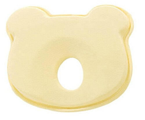 Buy Bargain KSB 9 Inches Yellow Soft Anti Roll Memory Foam Baby Head Positioner Pillow,Prevent Flat ...