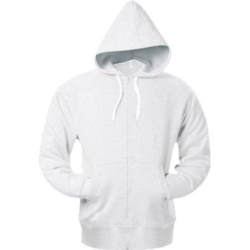 Kariban Mens Heavy Full Zip Contrast Hooded Sweatshirt