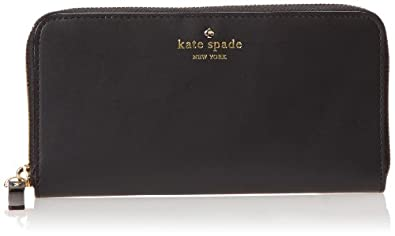 kate spade new york 2 Park Avenue Sweets Wallet,Black,One Size