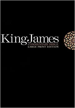King James Commentary Bible: Large Print Edition: Thomas ...