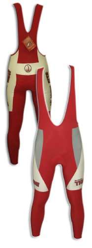 Buy Low Price JOLLYWEAR Cycling Thermal Bib Tights (JW RED collection) (B002ZBTLR0)