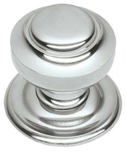 Chrome Tiered Centre Pull Door Knob / Handle (BC14) by OriginalForgery