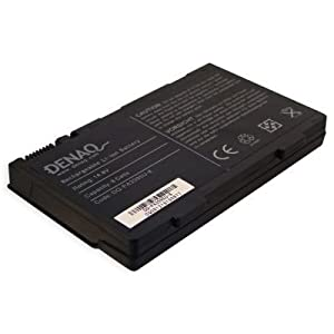 DENAQ 8-Cell 65Whr/4400mAh Li-Ion Laptop Battery for TOSHIBA Satellite M30X Series, TOSHIBA Satellite M35X Series and other; Part: DQ-PA3395U-8
