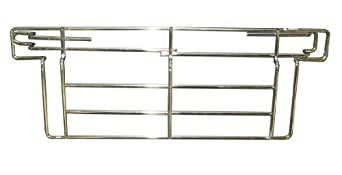 "SPG LU36C Wire Shelving Back Ledges, 36"" Length, 6"" Height"