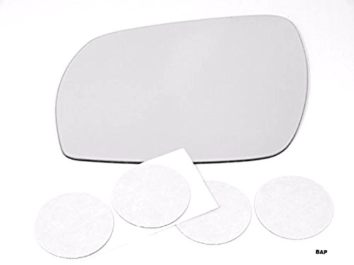 Fits 03-07 Nis Murano Left Driver Mirror Glass Lens w/Adhesive USA non heated (Left Glass Nissan Murano compare prices)