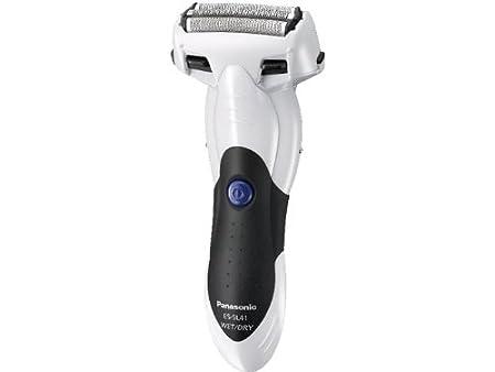 Panasonic ES-SL41-W Milano Men's 3-Blade Wet-Dry Shaver with Nanotech Blades
